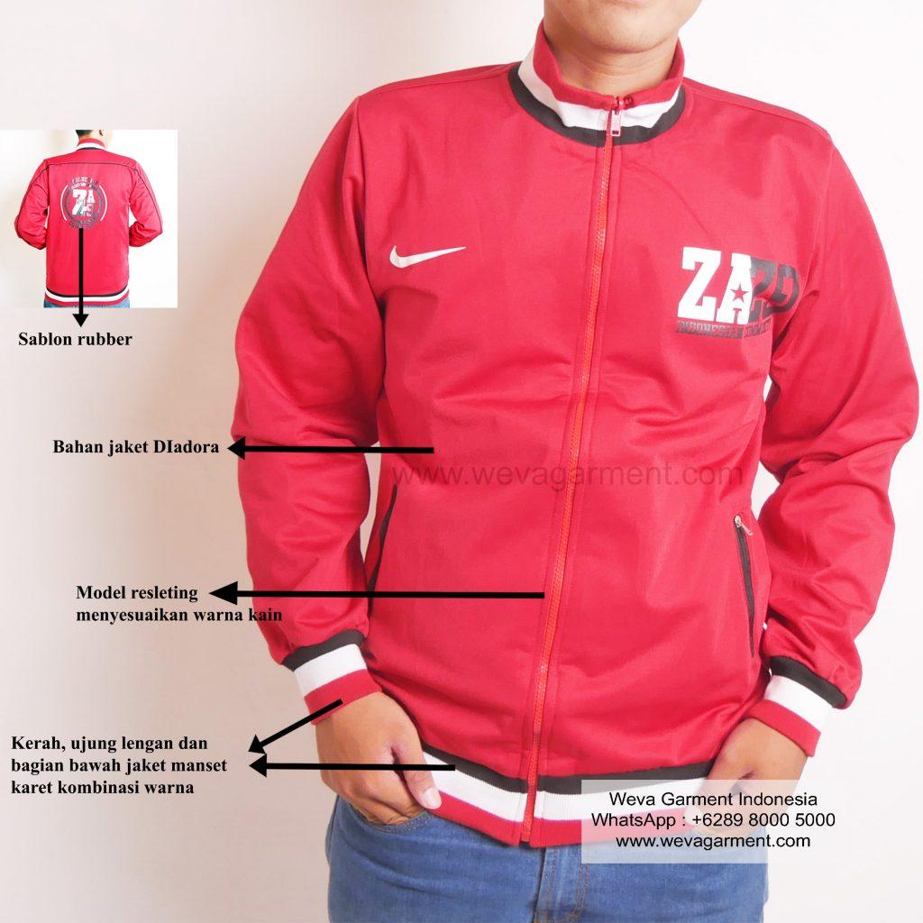 Hasil Produksi Dan Desain Jaket ZAZ9