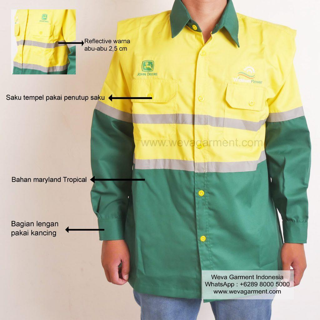 Hasil Produksi Dan Desain Wearpack John Deere