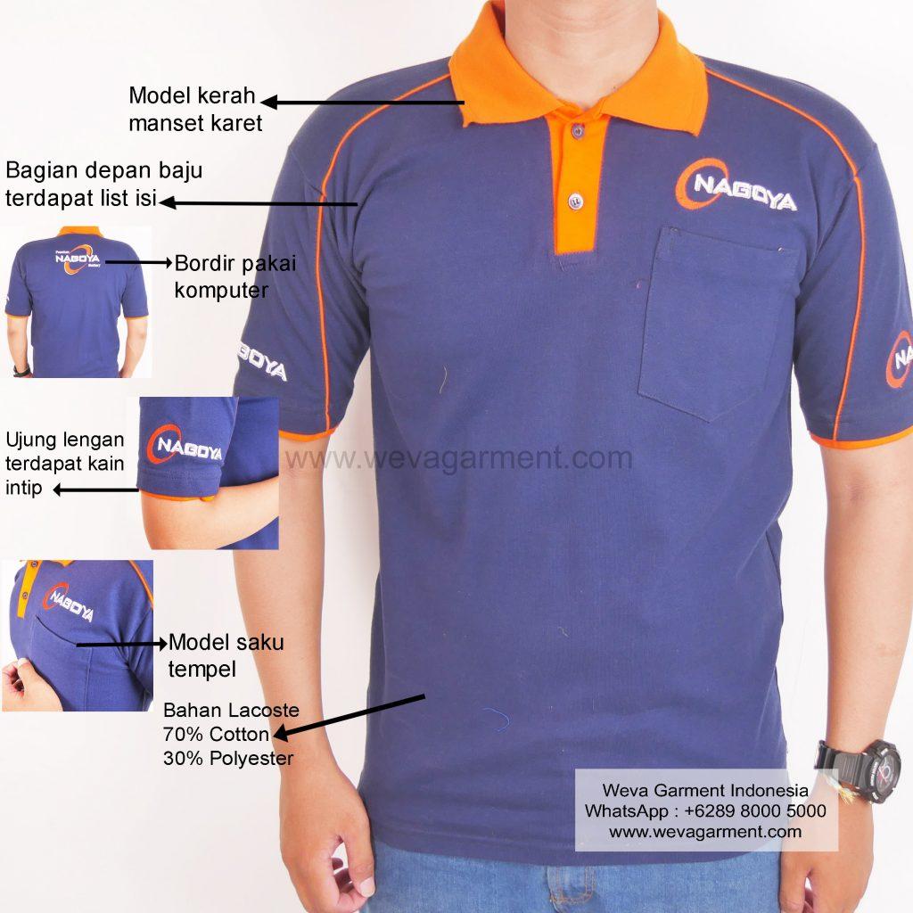 Hasil Produksi dan Desain Polo-Shirt Nagoya