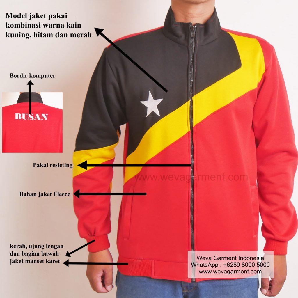Hasil Produksi Dan Desain Jaket Busan