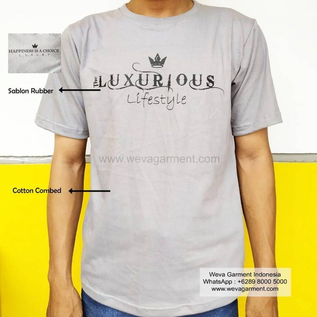 Hasil Produksi Dan Desain Kaos Luxury