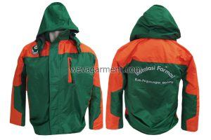 Hasil Produksi Jaket Kampus - Weva Garment