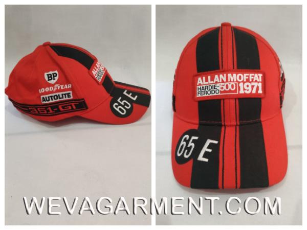 Hasil Produksi dan Desain Topi Allan Moffat