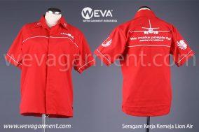 Hasil Produksi dan Desain Seragam Kerja Kru Lion Air