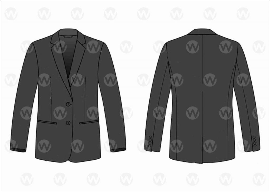 baju-seragam-jas-hitam