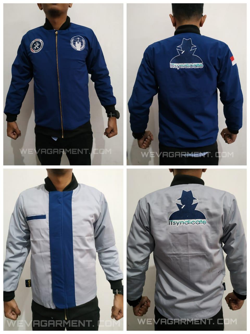 Contoh Desain Jaket – Weva Garment Indonesia | Konveksi Surabaya