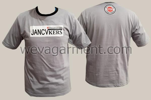 """Hasil Produksi dan Desain Kaos """"Jancukers"""""""
