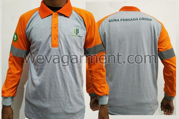 Hasil Produksi dan Desain Poloshirt PT.Guna Jaya Perkasa