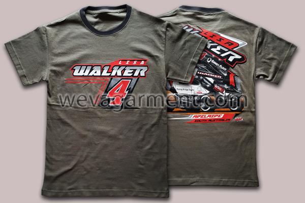 Hasil Produksi dan Desain Kaos Lisa Walker
