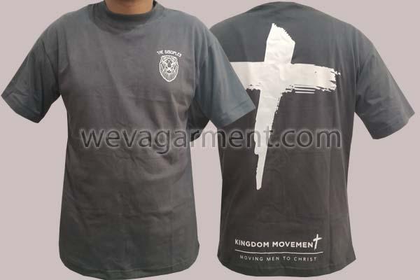 Hasil Produksi dan Desain Kaos The Disciples