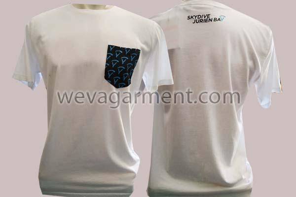 Hasil Produksi dan Desain Kaos Skydive Jurien Bay