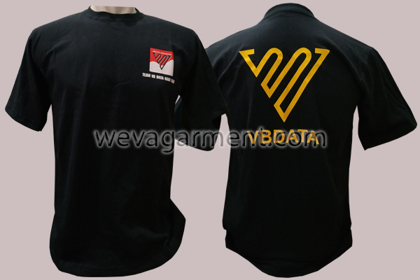 Hasil Produksi dan Desain Kaos VBDATA