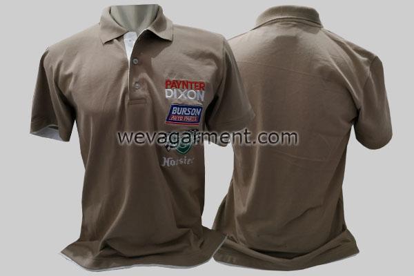 Hasil Produksi dan Desain Poloshirt Grey Paynter Dixon