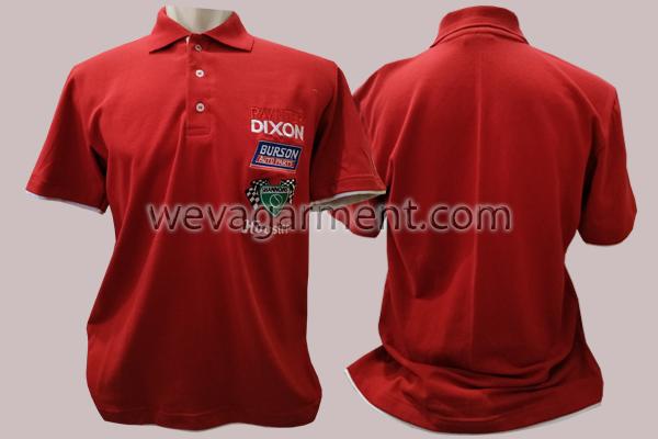 Hasil Produksi dan Desain Poloshirt Red Paynter Dixon