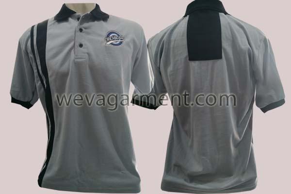 Hasil Produksi dan Desain Poloshirt Chemical