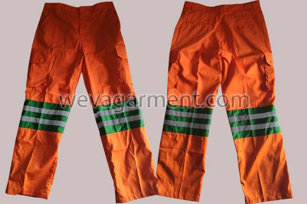 Hasil Produksi dan Desain Celana UP3 Palangka Raya