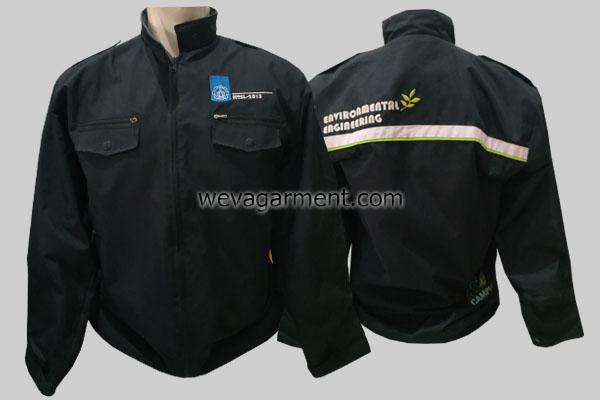 Hasil Produksi dan Desain Jaket Luar ITS ECO Campus