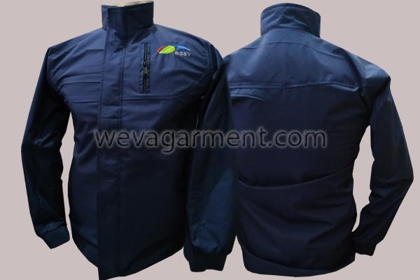 Hasil Produksi dan Desain Jaket BISBY