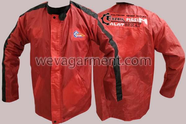 Hasil Produksi dan Desain Jaket Politeknik Madura