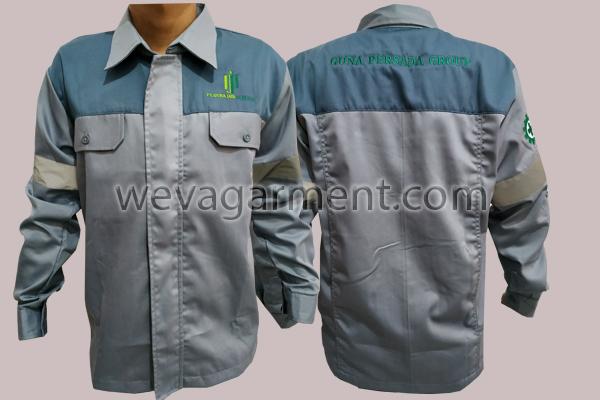 Hasil Produksi dan Desain Seragam PT.Guna Jaya Persada
