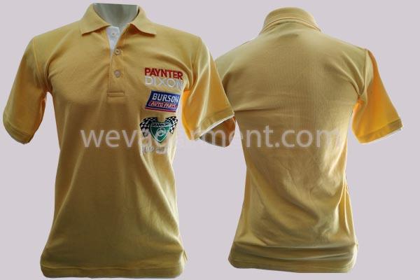 Hasil Produksi dan Desain Poloshirt Paynter Dixon