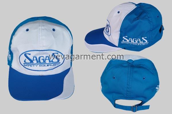Hasil Produksi dan Desain Topi SAGAS Safety