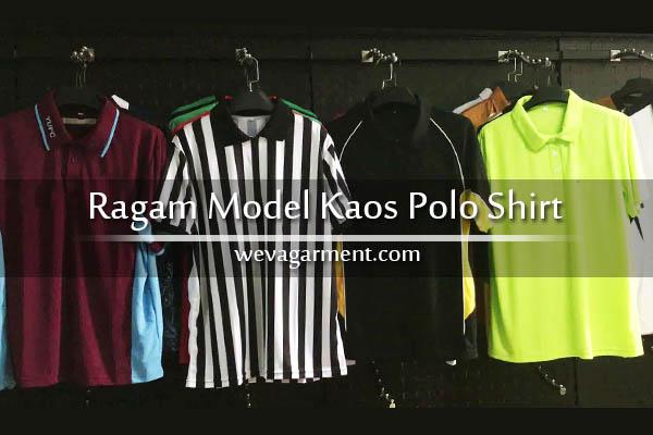 Ragam Inspirasi Model Kaos Poloshirt