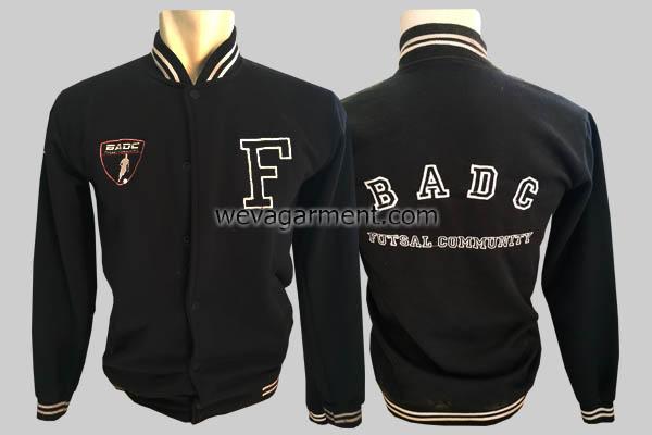 Hasil Produksi dan Desain Jaket Futsal BADC