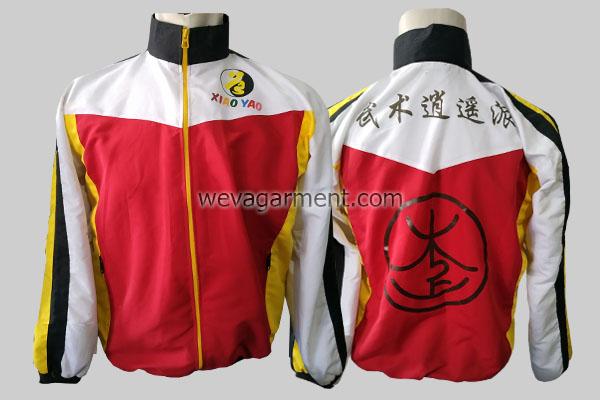 Hasil Produksi dan Desain Jaket Xiao Yao