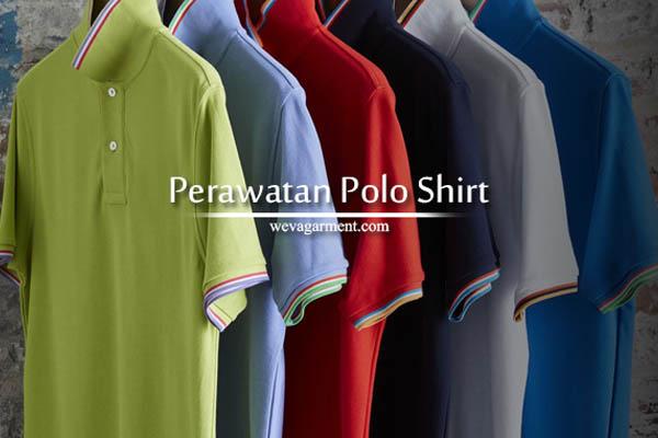 Cara Perawatan Kaos Poloshirt