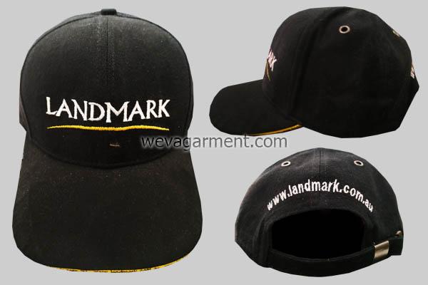 Hasil Produksi dan Desain Topi Premium LandMark