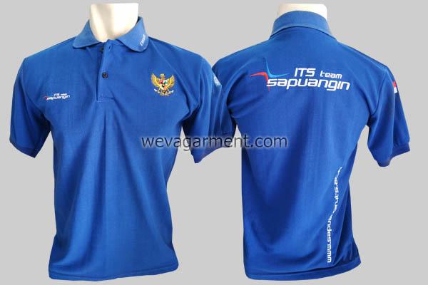 Hasil Produksi dan Desain Poloshirt ITS Teen Sapuangin