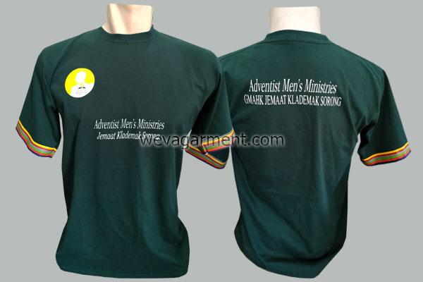 Hasil Produksi dan Desain Kaos Adventish Sorong