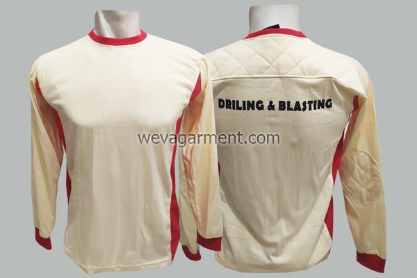 Hasil Produksi dan Desain Kaos DRILING & BLASTING