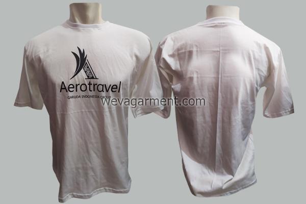 Hasil Produksi dan Desain Kaos Aerotravel