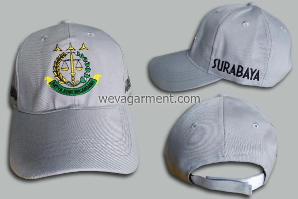 Hasil Produksi dan Desain Topi Batya Adhi Wicaksana