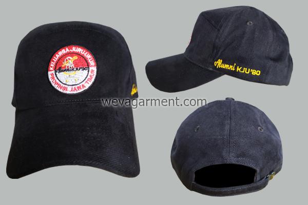 Hasil Produksi dan Desain Topi Alumni KJU'80