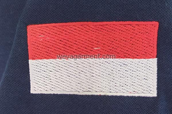 konveksi-poloshirt-bordir-bendera-lengan