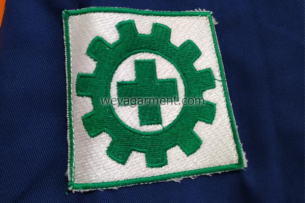 konveksi-wearpack-kemeja-kerja-bordir-lengan