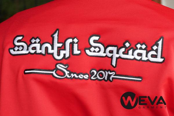 Detail Bordir Santri Punggung - Weva Garment