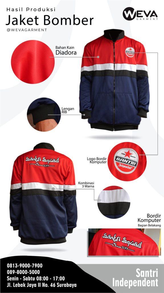 Jaket Bomber - Santri Independen