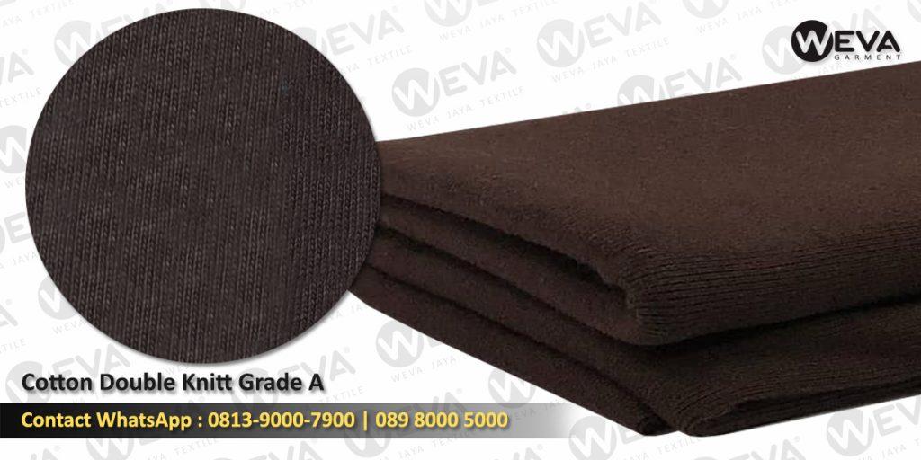 Detail Produksi - Cotton Double Knitt Grade A
