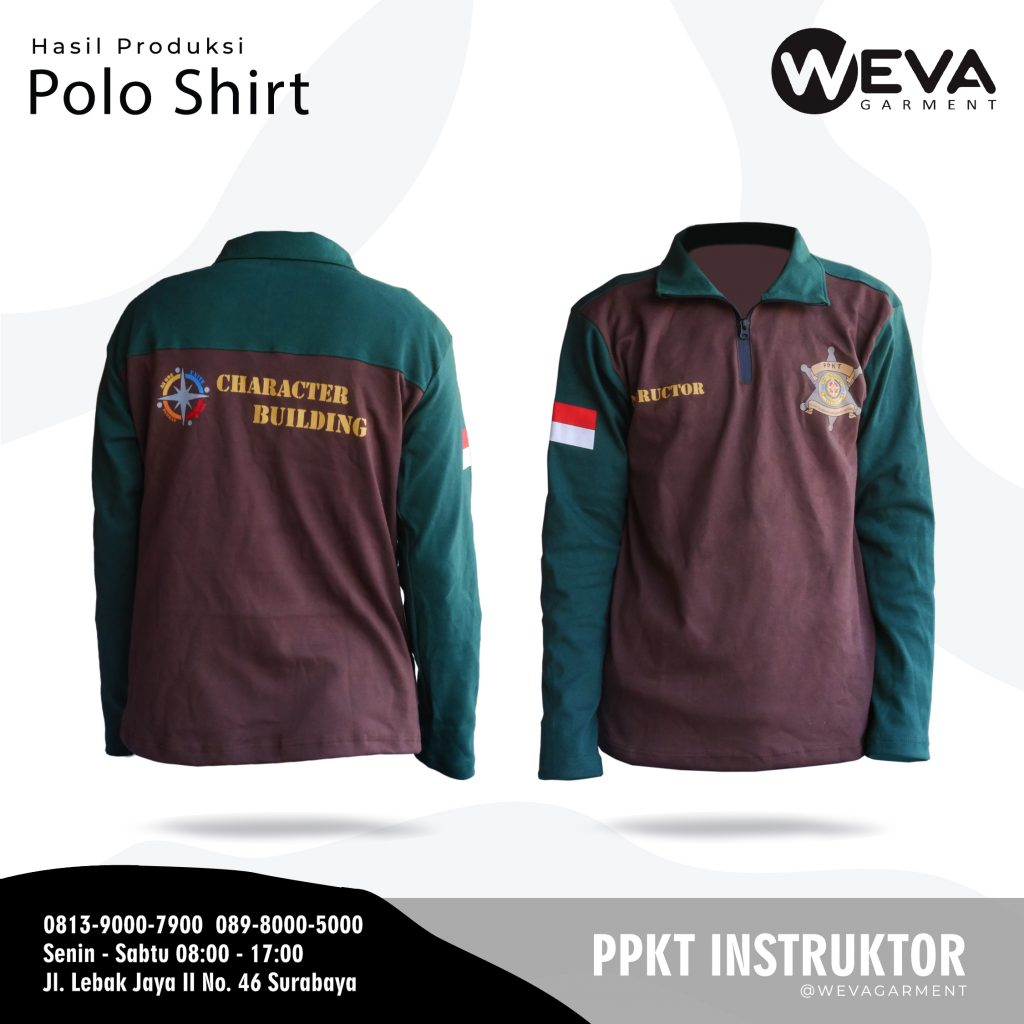 Kaos Seragam Instructor PPKT - Cover