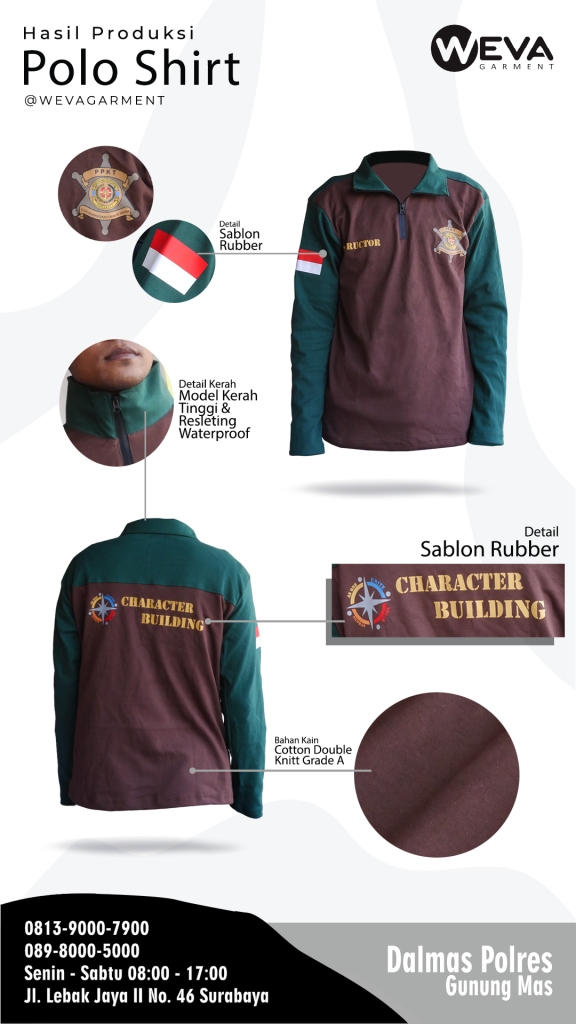 Kaos Seragam Instructor - Weva Garment