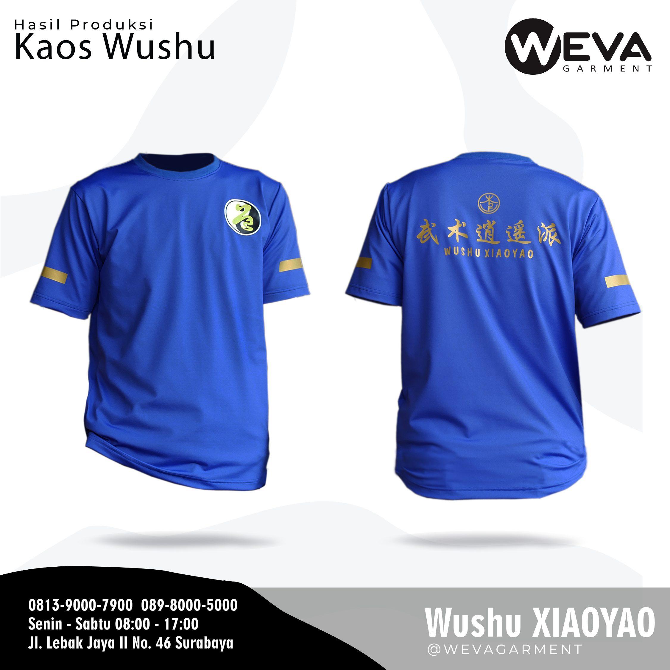 Hasil Produksi dan Desain Kaos Poloshirt, Kaos Jersey Xiao Yao